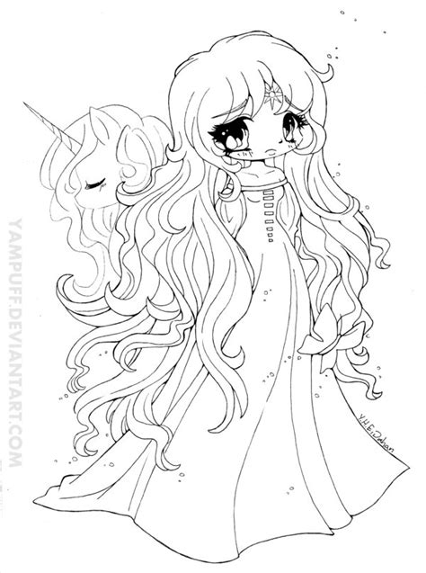 Amalthea Lineart The Last Unicorn By Yampuff On Deviantart The Last Unicorn Coloring Pages