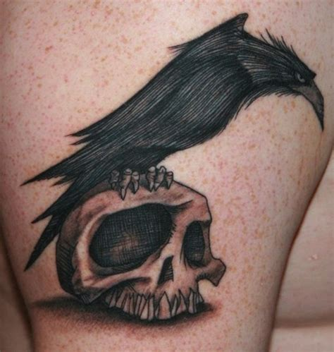 tattoo looks like pen birds of a feather 20 mysterious raven tattoos ideas