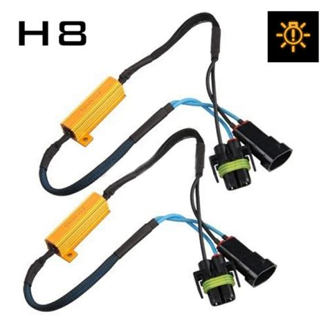 led resistor harness h8 fog light cree led resistor harness canbus error free play