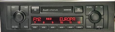 Radio Chorus Audi by Volkswagen Originalradio Pin Kod Radiokod S 246 Kning Online