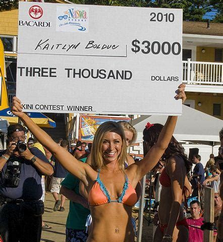 weirs resorts bikini contest   strings attached