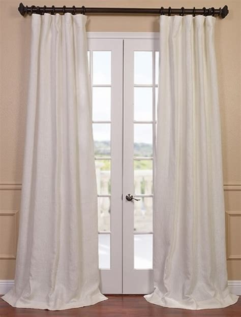 french linen curtains ivoire french linen curtain contemporary curtains