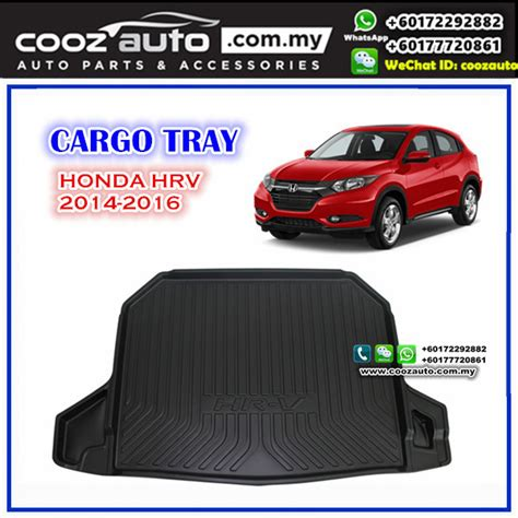Dudukanbraket Single Adjustable Plat Mobil Honda Hrv honda hrv hr v 2014 2017 luggage boot cargo tray
