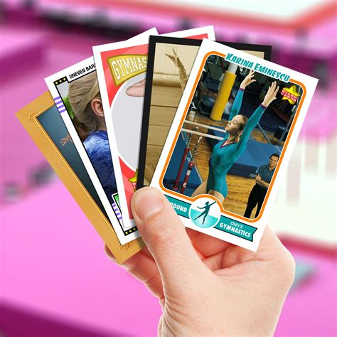 your own card make your own gymnastics card