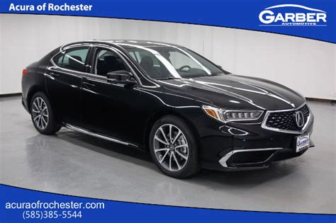new 2018 acura tlx 3 5 v 6 9 at sh awd with technology