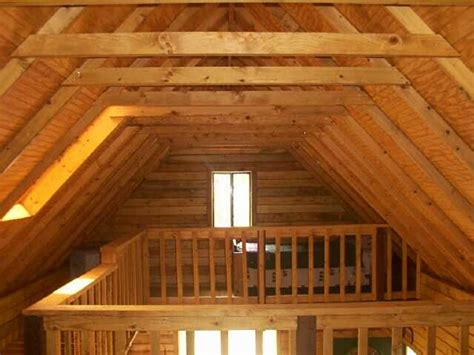 big loft small log home with loft quotes