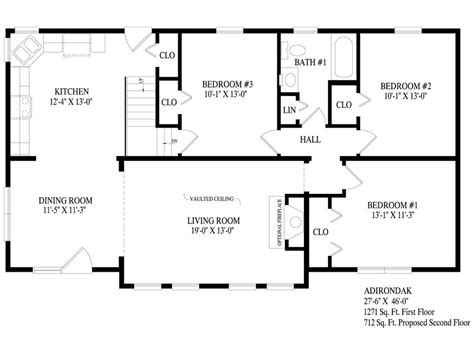 adirondack floor plans adirondack professional building systems