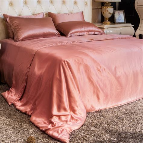 dusty rose bedding dusty rose silk bedding sets a08