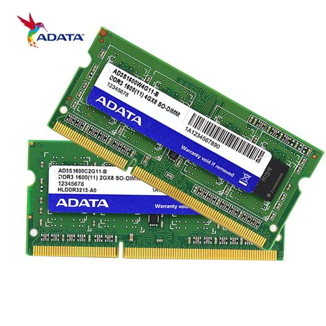 Memory Ram 4gb Laptop adata ddr3 memory ram 8gb 4gb 2gb 1600mhz ddr ddr3l memoria dram for laptop notebook 100