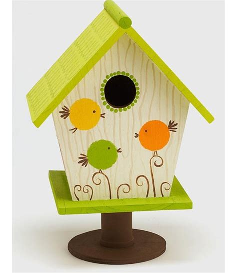 painted bird houses designs birdcage design ideas