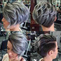 Washing Hair After Coloring - short hair with shaved back diva look book