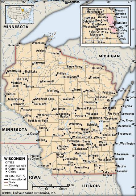 Wisconsin cities    Kids Encyclopedia   Children's