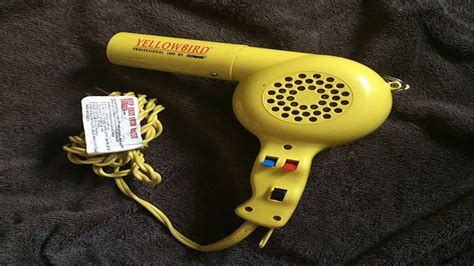 Conair Hair Dryer Yellowbird conair yellow bird dryer with comb review 1875 watts