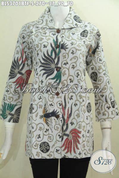 Model Pake baju batik wanita model terkini pake furing busana blus