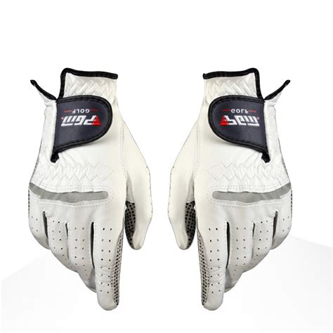 layout gloves golf gloves men s golf anti slip design genuine leather