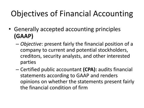 objectives of financial statements objective of financial statement 28 images 28