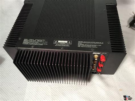 Power Lifier 200 Watt adcom gfa 5503 3 channel power lifier 200 watts per channel photo 1121433 us audio mart