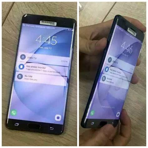 Samsung Galaxy Note 7 6 new samsung galaxy note 7 pictures leak showing