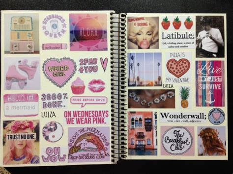 tumblr themes notebook i did a new collage for my other notebook tumblr