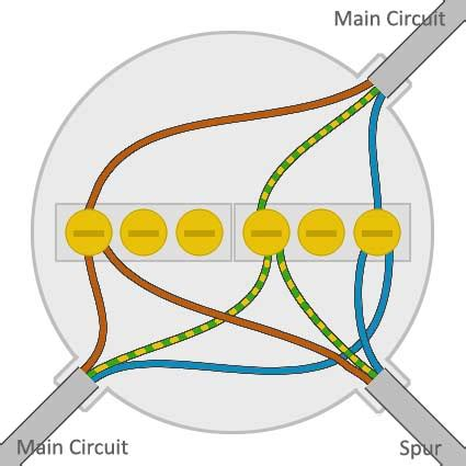 electrical wiring how to wire a junction box for