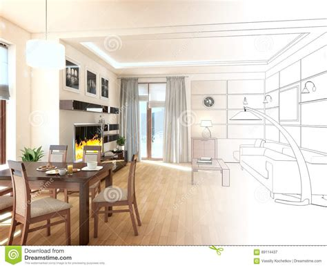 modern interior design living room download 3d house modern interior design of living room 3d render royalty