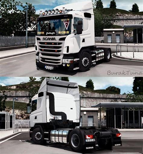 scania g420 tirsan v3 0 truck ets2 mod