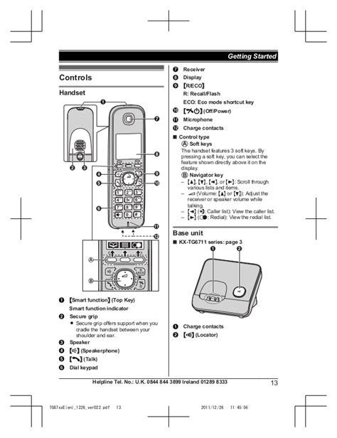 panasonic cordless phone circuit diagram efcaviation