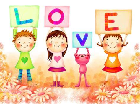 imagenes de amor para niños imagen de amor ni 241 os con la palabra love
