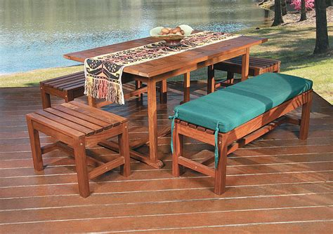 Ipe Outdoor Furniture by How To Care For Your Outdoor Wood Furniture Corner