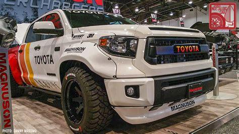 widebody tundra sema 2017 toyota will always have trucks japanese