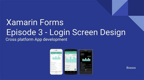 xamarin android login layout xamarin tutorial episode 3 login screen design youtube