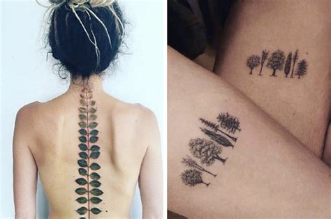 buzzfeed tattoos 26 delicate tattoos for nature
