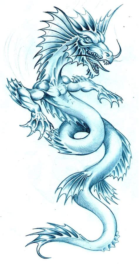 water dragon tattoo pin pin water tattoos on on