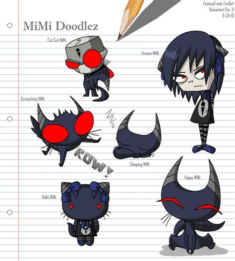doodle god freak mimi doodlez by fantasyfreak fangirl on deviantart