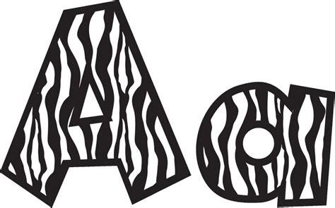 zebra pattern font 6 animal print letters font images animal print letters