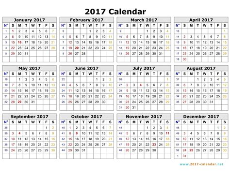 Calendar 2018 Year To View Calendar Year View 2017 Free Calendar 2017 2018