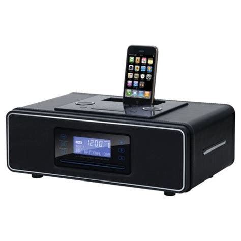 desk radio cd player buy teac sr3dab desktop dab fm radio with cd player ipod