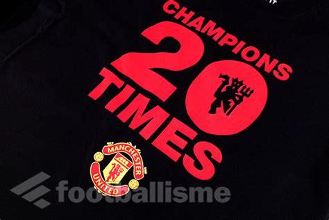 Kaos 3d Manchester United Pink 1 footballisme 187 t shirt manchester united chions 20
