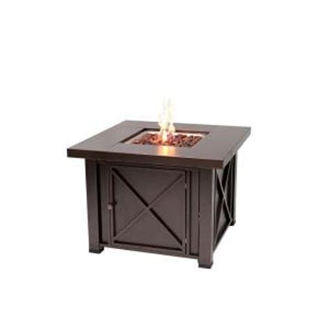 outdoor gas pit home depot sense 38 in x design propane gas pit 61108
