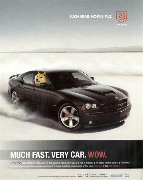 Doge Car Meme - ot wow such doge genius