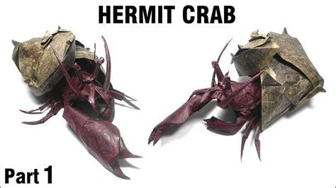 Hermit Crab Origami - origami hermit crab tutorial satoshi kamiya part 1 折り紙