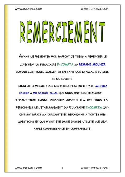Exemple De Lettre De Remerciement à Un Notaire Rapport De Stage Fiduciaire3