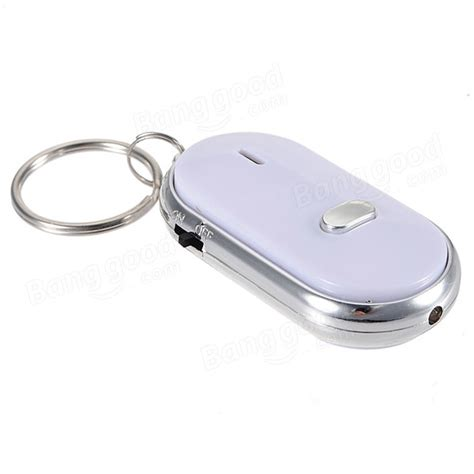 Always Find Your With The Led Keyring whistle key finder keychain sound led with whistle claps