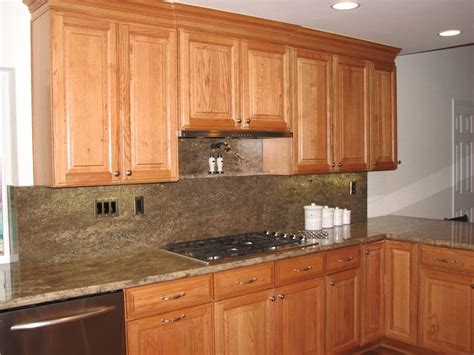 Light Oak Kitchen Cabinets | dark kitchen cabinets with light oak trim quicua com