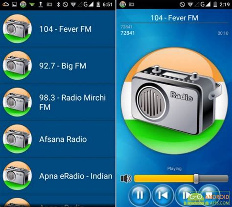 radio app android 5 best india radio apps for android go android apps