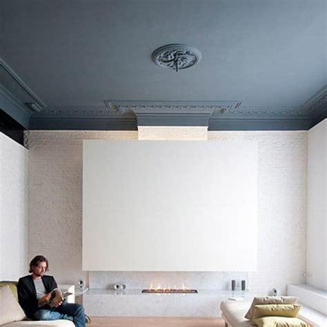 Merveilleux Peindre Un Plafond En Blanc Mat #1: Plafond-bleu_a_moulures.jpg