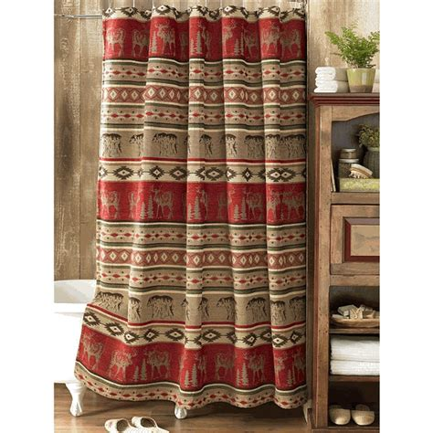 adirondack shower curtain adirondack shower curtain