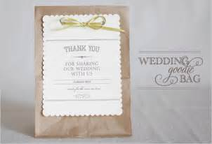 Diy wedding favor bags free favor bags thoughtfully simple