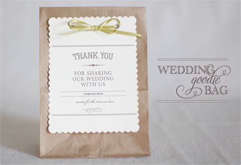 Wedding Favor Bags by Diy Wedding Favor Bags Thoughtfully Simple