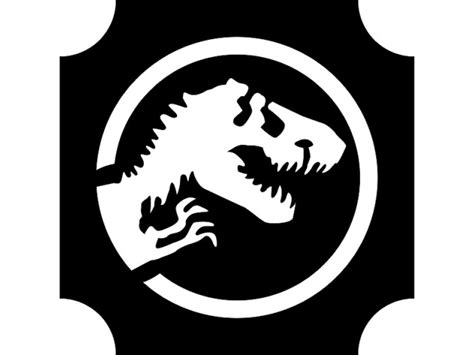 Free Printable Pumpkin Carving Stencils Jurassic Park | jurassic park pumpkin stencil google search this is